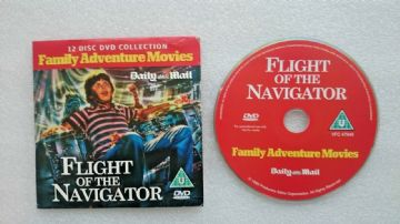 Flight of the Navigator DVD Originally Released  by the Daily Mail